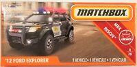 Matchbox 2019 Power Grabs MBX Rescue 8/20 '12 Ford Explorer 58/100 (BBGCH70)