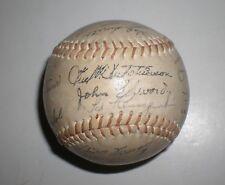 1964 Cincinnati Reds Team Facsimile 26 +REAL Ted Kluszewski Autographed Baseball