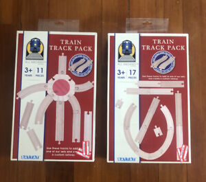 Set Of 2 Battat Train Track Pack Double Sided Tracks 11 Pieces (22 Pieces) NEW!