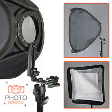 Portable Universal Fit Hotshoe Softbox 60cm Speedlight Speedlite Flash Hot Shoe