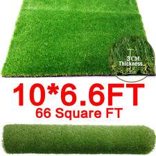 10x6.6 ft Artificial Grass Mat Synthetic Landscape Fake Lawn Pet Dog Turf Garden