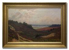 FINN WENNERWALD *1896-1969 / LANDSCAPE - Original Danish Oil Painting