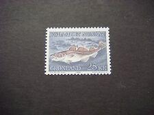 GREENLAND 1981 25 Kr Atlantic Cod SG 130 unmounted mint