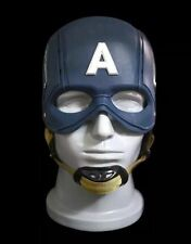 NEW CATTOYS 1/1 Captain America WEARABLE Helmet Replica Brand New ABS + LEATHER