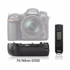 Meike MK-D500 Pro 2.4G Remote Control Battery Grip for Nikon D500 as MB-D17
