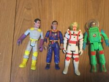 Vintage lot of 4 Action figures Ghostbusters 80's/90s Kenner