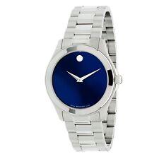 Reloj de cuarzo Movado 0606116 Para hombres deportivo Junior Azul