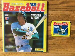 Panini Baseball Sticker Album