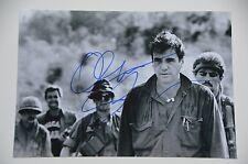 Oliver Stone signed 20x30cm Platoon photo autographe/Autograph en personne