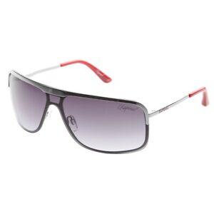 Kaporal Sonnenbrille KR3004_C01 Herren Sunglasses Silber Rot Silver NEU & OVP