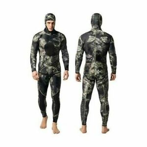 Nataly Osmann Men's 2 Piece Camo Spearfishing Wetsuit Size XL - New with Tag