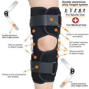 Adjustable Double Metal Hinged Knee Brace Support Protection Arthritis Sport AUS