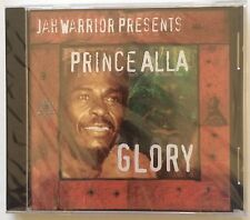 "Prince Alla ""Glory"" CD Jah Warrior Roots Reggae - Brand New Sealed - Rare!"