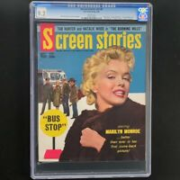 Screen Stories V55 #8 (Dell 1956) 🔥 CGC 9.2 🔥 Rare! Marilyn Monroe Magazine