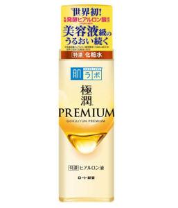 Rohto Hadalabo Gokujyun Premium hyaluronic acid Rich Moisture Lotion 170ml Japan