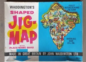 X944 Waddington's Jig-Map India Complete