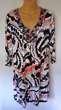 Boden Womens US 8 UK 12 Dress Beads Knit Dots
