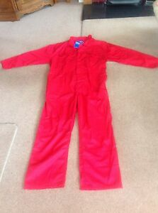 Supertouch Basic Coverall - Red - Code: 51206 - XXXL