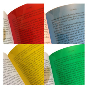 Colour Overlay For Dyslexia A4 Assorted Pack - Overlays For Visual Stress Relief
