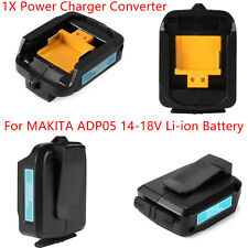 1Pcs USB Power Charger Adapter Converter for MAKITA ADP05 14-18V Li-ion Battery