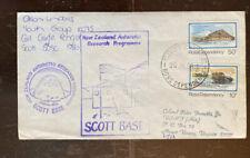 Ross Dependencies Antarctic Signed Cover, Ranger Girl Guide Scott Base 124-12