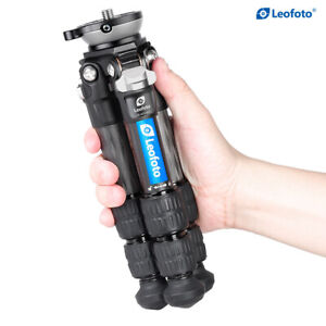 Second hand Leofoto Ranger LS-223CEX Tripod Carbon Fiber for Camera   Half Ball