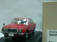 WOW EXTREMELY RARE Toyota 1967 Corona RT55 1600GT RHD Red 1:43 Ebbro-DISM