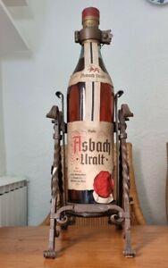 Asbach uralt Flasche 3 Liter.Aus den 1970 Jahren.Mit orginal Ausschenker