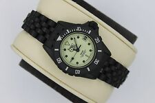 Pre Tag Heuer 980.030 PVD Black White RARE 1000 Watch Womens Rare MINT Crystal