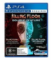 Killing Floor Double Feature VR Sony PS4 Playstation 4 PSVR Horror Shooter Games