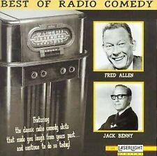 Best of Radio Comedy by Jack Benny (CD, Nov-1995, Laserlight)