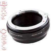 Pentax K PK mount DA AF Lens To Olympus Panasonic Micro 4/3 M43 Adapter aperture