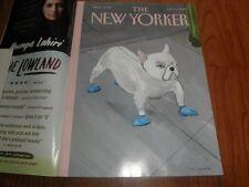 "NEW YORKER MAGAZINE_""Blue Dog""-Near Mint-No Label-Oct.7,2013"