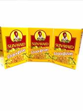 3X- Sun Maid California Golden Raisins 15 Oz,Dried, Fiber, fat free energy snack