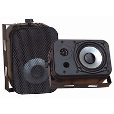 "Pyle Pd-wr40b 5 1/4"" Indoor/outdoor Waterproof Speakers (pdwr40b)"