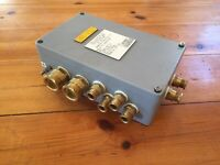 GENUINE NAVY BLAST PROOF 240V McGEOCH CONTACTOR UNIT CABIN CI/EA/002/01