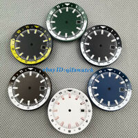 36.5mm colorful watch dial with chapter ring fit NH35 NH35A automatic movement