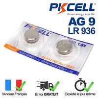 2 PILES / SR936SW / SR936 / LR936 / AG9 / 394 / 1,5V / ENVOI RAPIDE