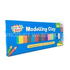 16 Pack Kids Modelling Clay Set Non Toxic Plasticine Child Play Arts & Craft 3+