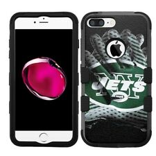 for iPhone 8 Plus Rugged Rubber+Hard Hybrid Case New York Jets #Glove