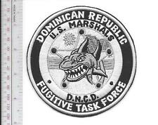 United States Marshal Dominican Republic Fugitive Task Force Grey Vel hooks Cro