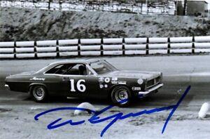 NASCAR Dan Gurney authentic autographed photo NO RESERVE