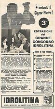W8920 IDROLITINA - Renato Contarini di Spoleto - Pubblicità del 1958 - Advert