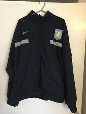 Aston Villa Nike Zip Up Jacket Size Large Must See Wow!!