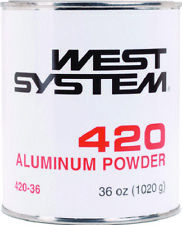 West Systems Marine Aluminum Powder 36oz Increases hardness of coated surface