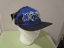 e188b4a7759 Rare Vintage Starter NBA Orlando Magic Snapback Wave Hat Cap Blue Black NWT