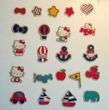 Hello Kitty Scrapbooking Chip BoardShaped Embellishements 44 pieces Paper Craft
