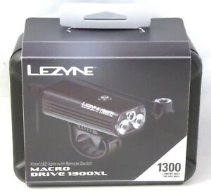 Lezyne Macro Drive 1300XL Loaded with Remote
