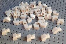 Lego White 1x2x1.33 Brick with Curved Top (6091) x10 *BRAND NEW* City Star Wars