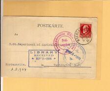 """Baviera/mer. n. 96i su estere-cartolina n. USA, vs. ROSSO CUORE-k2 """"AUSL. - METTI"""